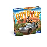 HUCH! 880369 Outback, bunt, 29,5 x 29,5 x 7 cm
