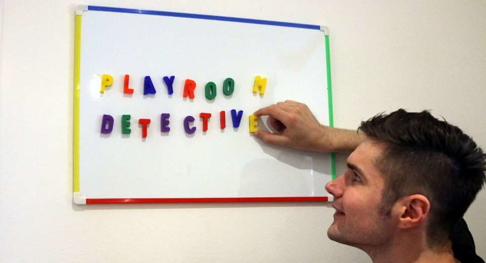 "Bei Adventox testeten wir diesmal den Escape Room ""Playroom Detective"""