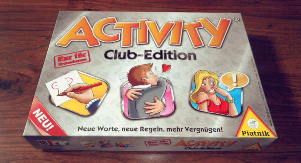 Activity ab 18 mit Erotikbegriffen und Schimpfwörtern