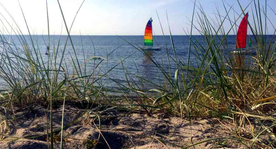 Segeln auf der Ostsee macht Spaß, besonders mit Skipper Manfred Sommer in Wismar