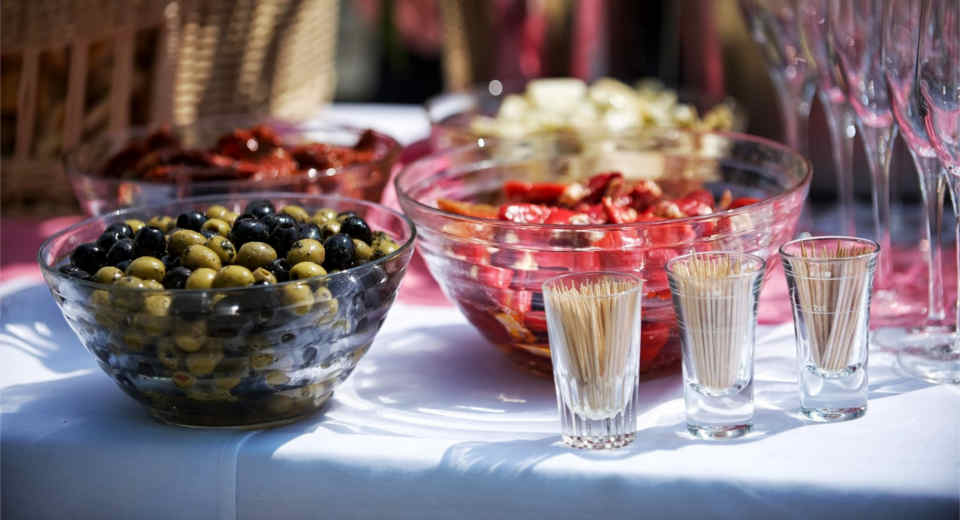 Sommerparty Snacks mit Fingerfood