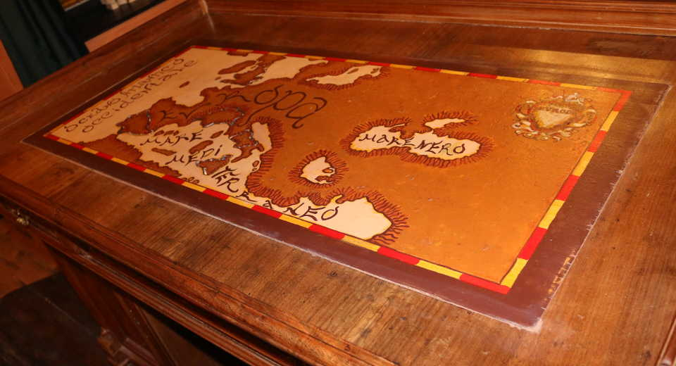 Leonardo Da Vinci's Cabinet - das Highlight bei Labyrintoom
