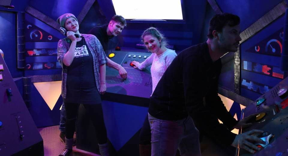 Space Escape Game bei Mission Accepted in Berlin