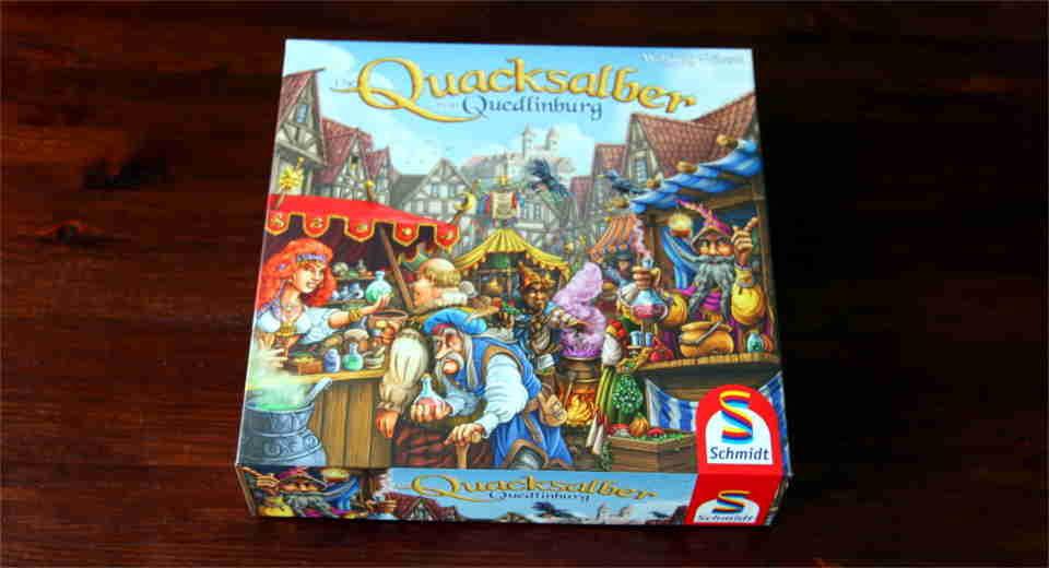 Die Quacksalber von Quedlinburg ist ein Brettspiel aus dem Jahr 2018
