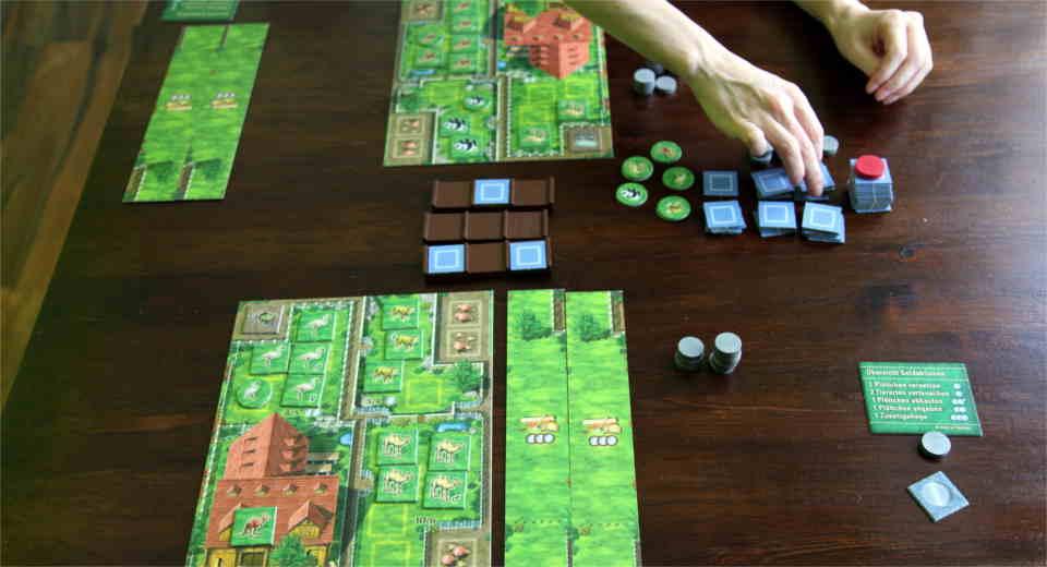 Zooloretto kann man mit 2 bis 4 Spielern spielen