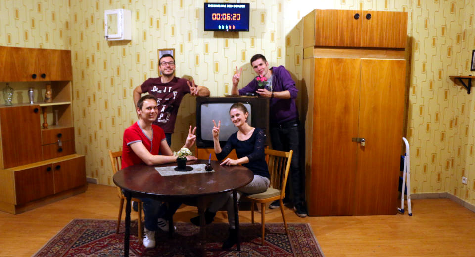 Das Escape Game Team von the Bomb in Berlin