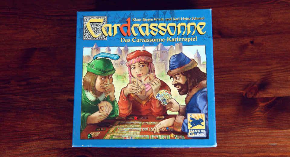 Cardcassonne in der Box