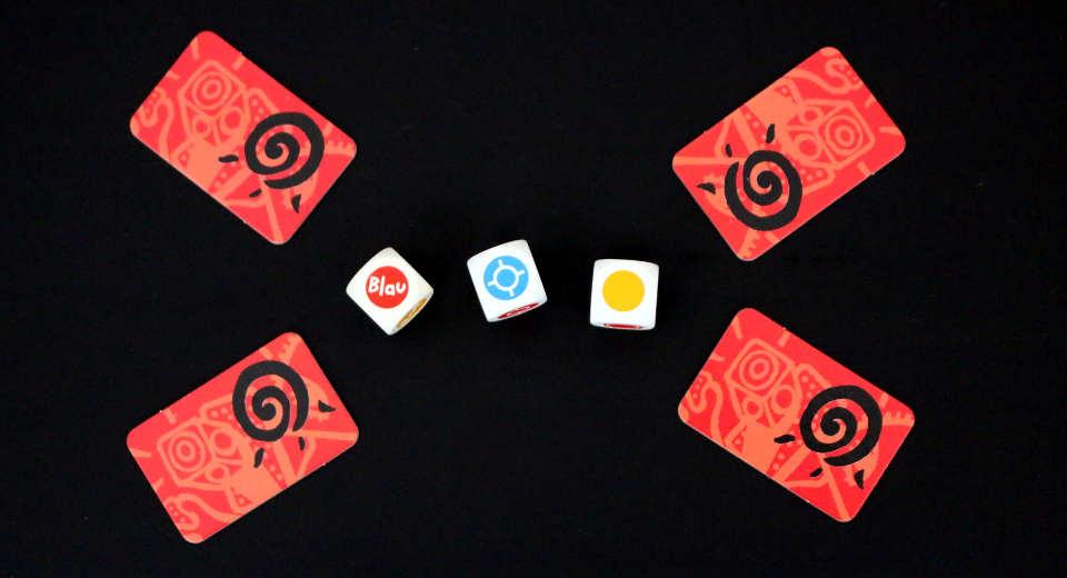 Das Spiel Confusion ist ideal als Partyspiel