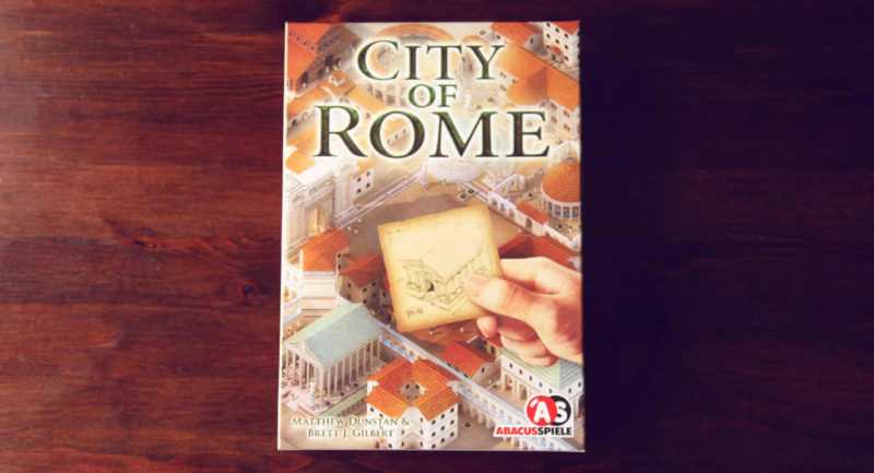 Brettspiel City of Rome - Box