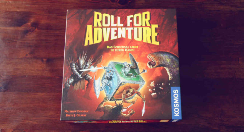 Roll for Adventure im Spielkarton
