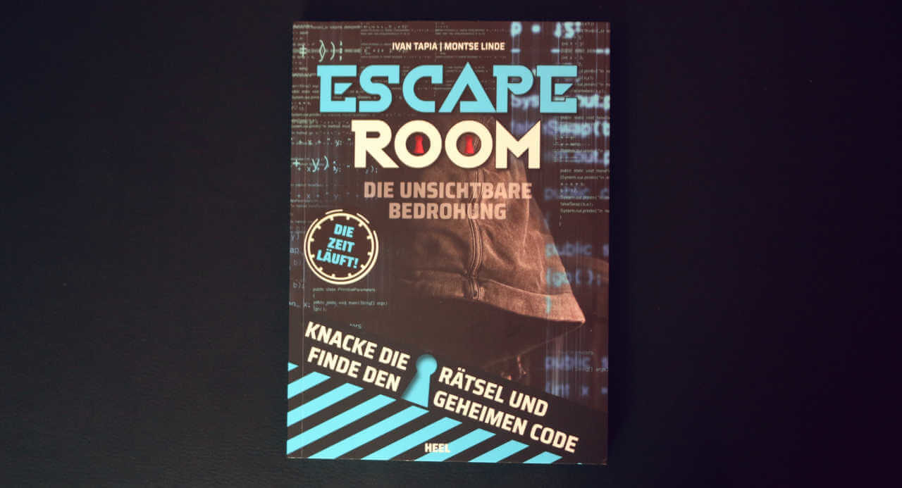 Escape Room: Die unsichtbare Bedrohung – Cover des Buchs