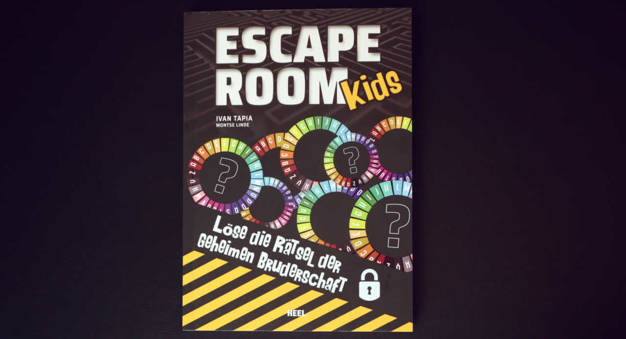 Escape Room Kids – Das Buchcover