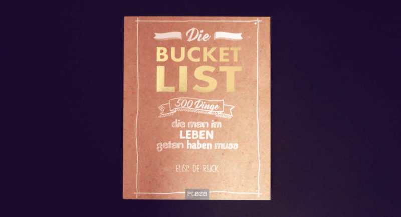 Die Bucket List – Buchcover