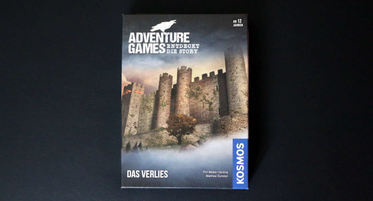 Adventure Games: Das Verlies - Box