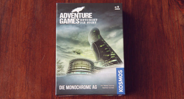 Titelbild zur Rezension von Adventure Games - Die Monochrome AG