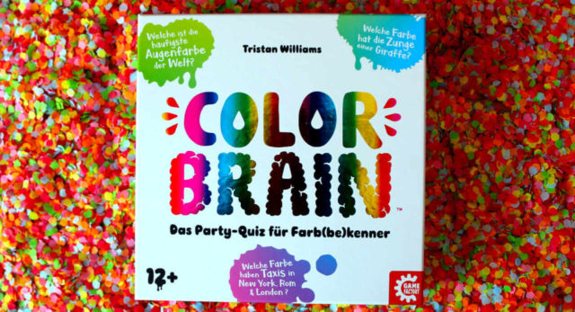Das Party-Quiz Color Brain in der Spielschachtel
